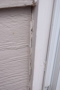 Caulking Cracked